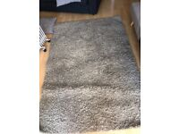 Beige living room carpet from IKEA