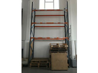 Used Dexion speedlock uprights - 5m height - Size 4953mm x 900mm price per upright