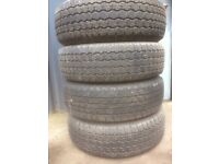 As new jeep tyres 245 - 70 - R16
