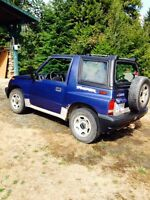 1996 Geo Tracker Coupe (2 door)