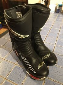 RST TracTech Evo Motorcycle Boots - Size 45 (UK 10 ½)
