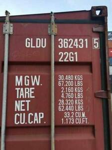 20FT Used Shipping Containers for Hire - BEST CONTAINERS / BEST PRICE Brisbane City Brisbane North West Preview