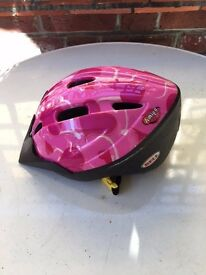 Kids Bell Bike Helmet 50-55cm Adjustable.