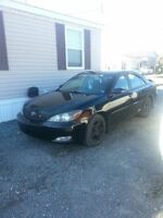 2004 Toyota Camry Se 5 speed $4300obo or trade