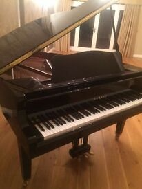 Yamaha GB1 black baby grand piano (2009) as new Belfast pianos