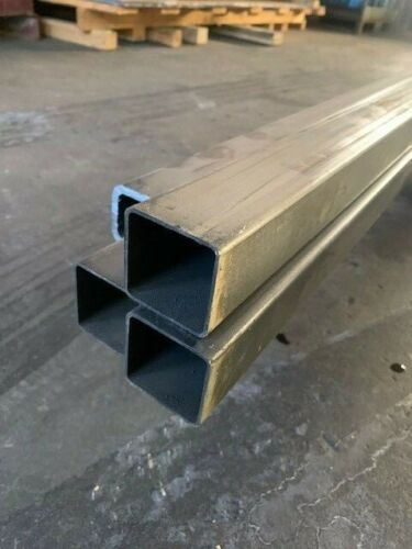 "Steel Square Tube 2"" x 2"" x 48"" Long x 1/8"" Wall (0.125"")"