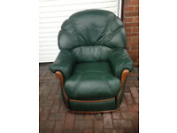 Italian Leather Recliner Chairs