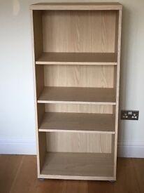 Bookcase - Light oak effect