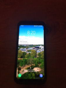 Samsung Galaxy S8 64 GB Black and Samsung Gear S2 Classic