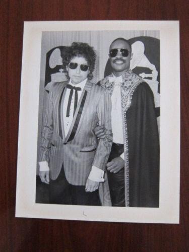 BOB DYLAN Stevie Wonder Grammy Awards  8x10 photo