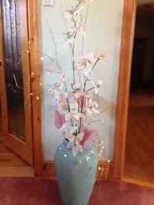 Vase de décoration couleur vert pâle, 20$