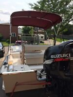 McKee Craft boat with 2002 Suzuki 140hp Motor