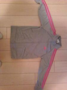 Girls Adidas track suit top for sale