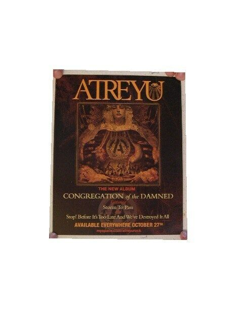 Atreyu Poster Congregation Of The Damned