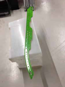 RAIL, FORMED GREEN(ARCTIC CAT#0704-732)