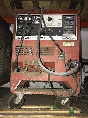 Lincoln Sp-200 Welding Machine
