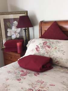 BEAUTIFUL  bedding and accessories!