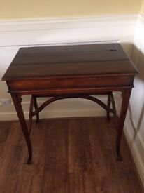 Fold Away Writing Desk & Side Table - Knights of Beaconsfield - By Royal Appointment