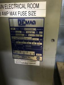 Bemag Industrial Transformer 225 KVA