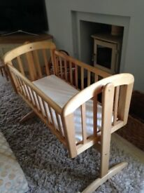 John Lewis Baby Crib - Very Good Condition