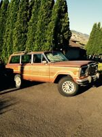 1982 Jeep Grand Cherokee Wood Grain Wagoneer LTD