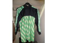 Full team of football shirts (plus goalkeeper) for sale – all XL – sixteen shirts