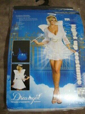 NWT WOMEN HEAVENLY DE-LIGHT HALLOWEEN DREAMGIRL/ ANGEL MINI DRESS SET SIZE M ()