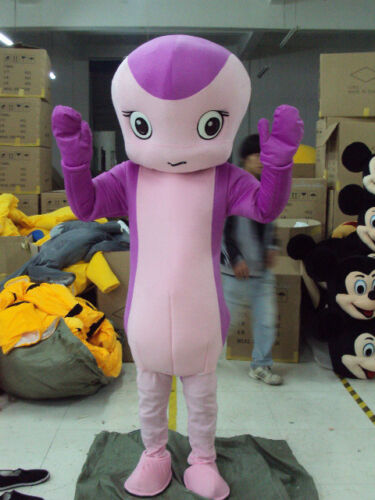 Orchid Snake Mascot Cartoon Character Costumes Cosplay Animals Outfit Party gift