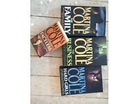 Set of 4x MARTINA COLE Books for Sale!