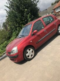 Reduced for quick sale...... Renault Clio 1.2 2004
