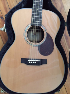 Breedlove Om/Cre Acoustic Electric - BEAUTIFUL!