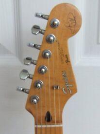 Fender Hank Marvin Strat Custom Build