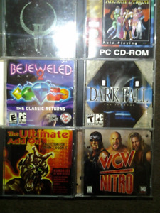 RETRO PC Video Game BUNDLE - 30 Games + More!!