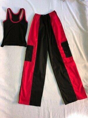 Black & Red Adult Jazz/Hip Hop Dance - Hip Hop Jazz Kostüme