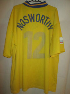 Nosworthy-Match-Worn-Signed-Gillingham-2000-2001-Away-Football-Shirt-6848