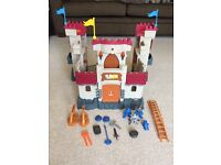 Fisher Price Imaginex Castle (by Mattel) - Excellent Condition - Complete with Accessories & Figures