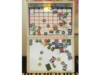 Lovely wooden responsibility CHART by Melissa & Doug