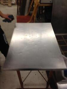 stainless steel table reduced 70 bucks cash today