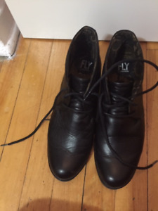 Brand Fly London black winter shoes size 38EU for $170
