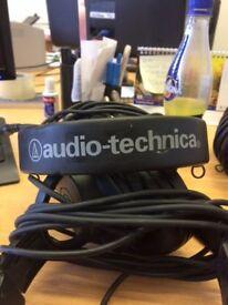 Audio Technica Head Phones