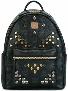 MCM studded backpack Black (very good condition)