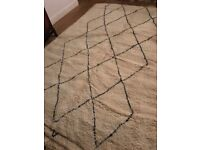 A small selection of Beni Ourain rugs available for sale now.