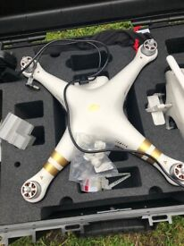 DJI Phantom 3 Professional Drone Like New With Hard Case