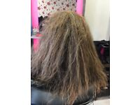Brazilian keratin Blowdry £49, Japanese hair straightening 160