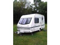 SOLD - Elddis Whirlwind XL 2 Berth Touring caravan 2000.