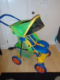 Graco Voyager pram in very good condition
