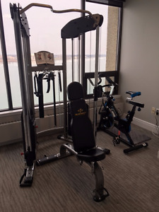 Amazing deal on Bodycraft Strenght Training System, bike, bench