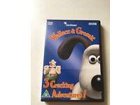 Aardman Wallace & Gromit 3 Cracking Adventures DVD