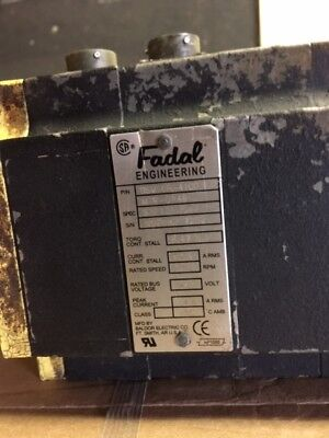 Fadal Axis Motor For Fadal Vertical Machining Center