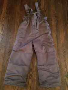 Boys Grey Snow Pants